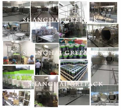 Coconut process line and packing line