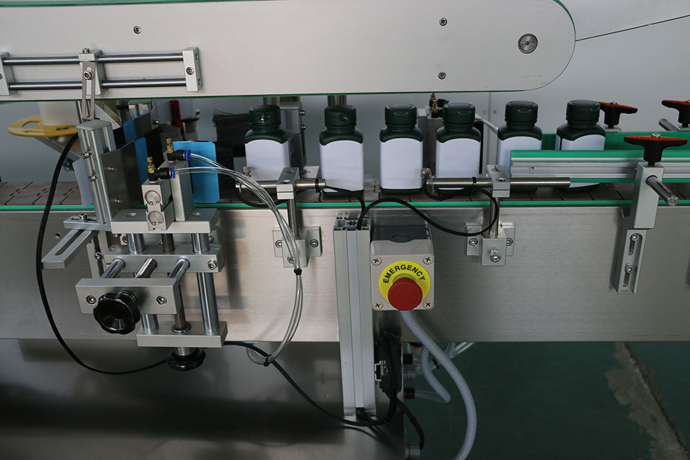 Square Jars Labeling Machine