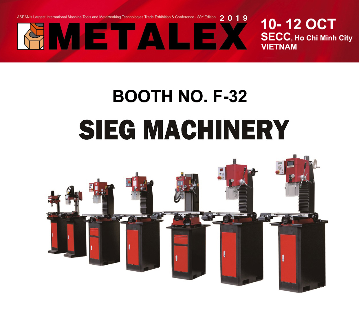 """Welcome to Our Booth at """"METALEX VIETNAM 2019 """""""
