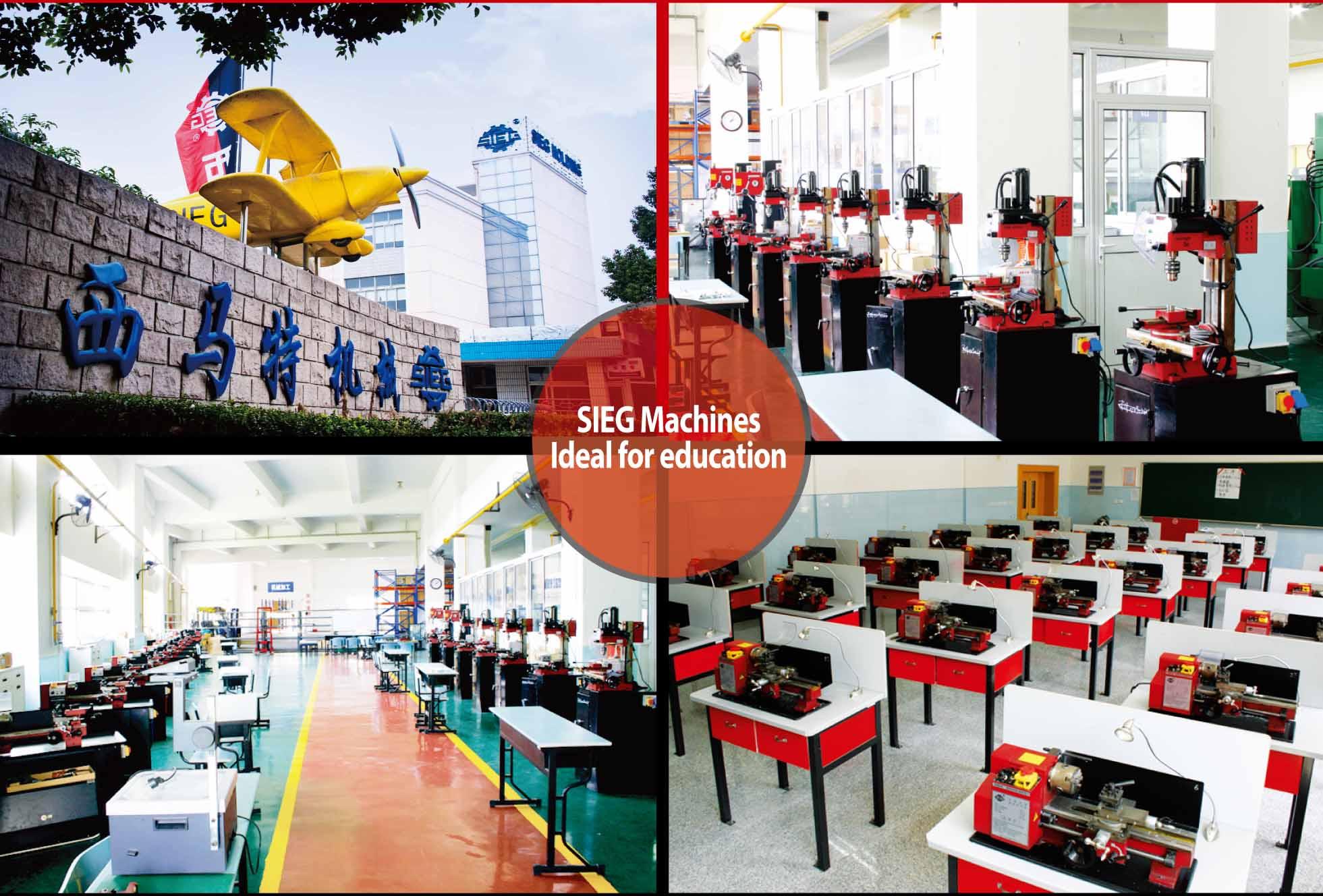 SIEG Machines Being Used in NTU Skill Center